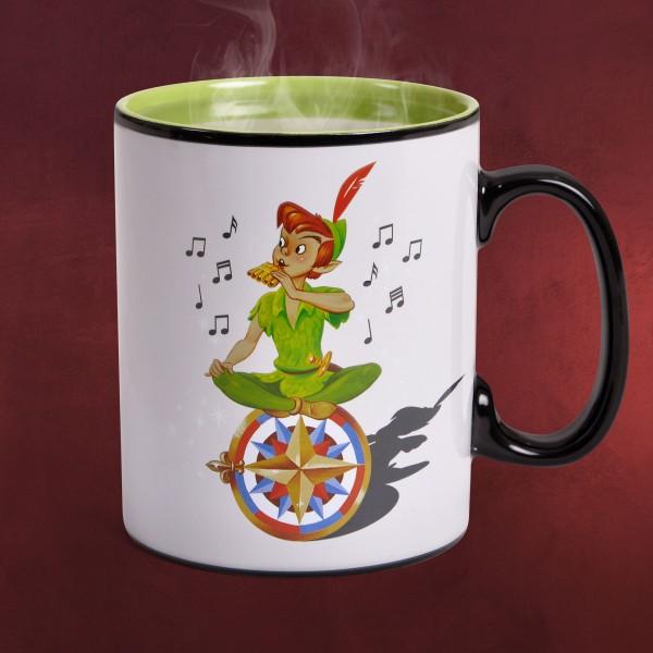 Peter Pan - Neverland Thermoeffekt Tasse