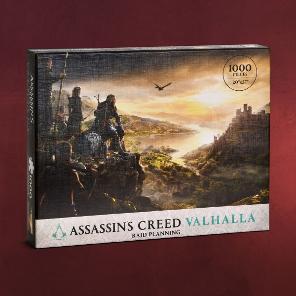 Assassin's Creed - Valhalla Raid Planning Puzzle