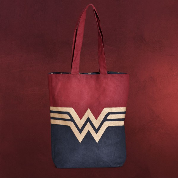Wonder Woman - Logo Shopper Tasche