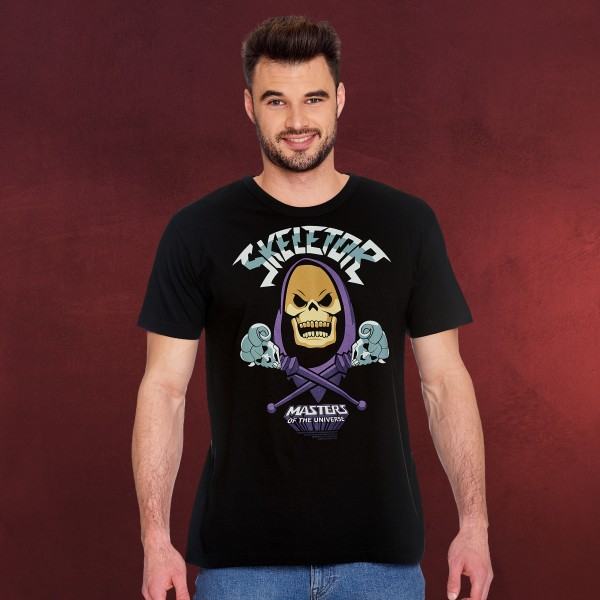 Masters of the Universe - Skeletor T-Shirt schwarz