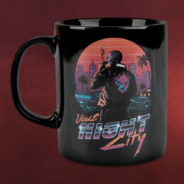 Cyberpunk 2077 - Visit Night City Tasse