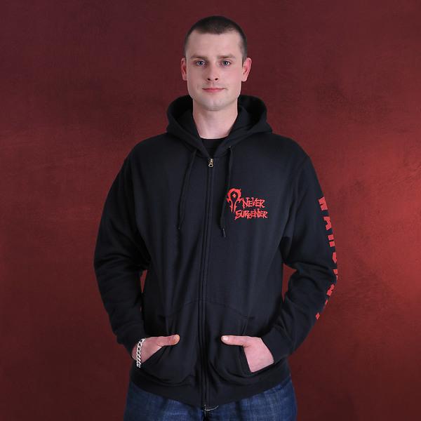 Warcraft - Horde Logo Kapuzenjacke schwarz