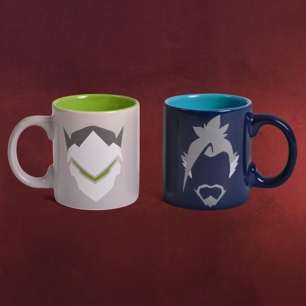 Overwatch - Hanzo & Genji Espresso Tassen-Set
