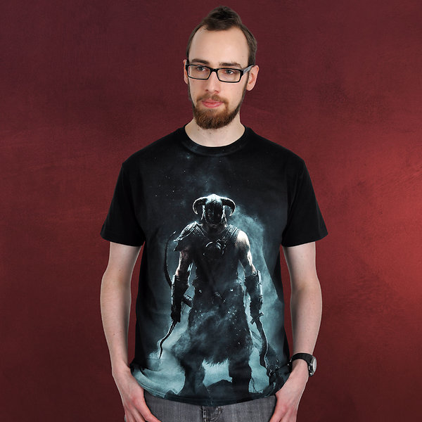 84e284ce Skyrim - Dragonborn T-Shirt schwarz | The Elder Scrolls | Elbenwald