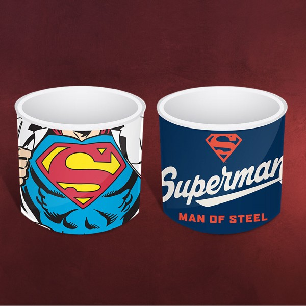 Superman - Eierbecher 2er Set