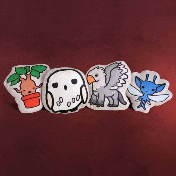 Harry Potter - Cute Creatures Chibi Kissen-Set