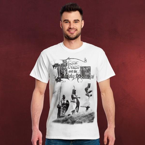 Monty Python - Die Ritter der Kokosnuss T-Shirt weiß