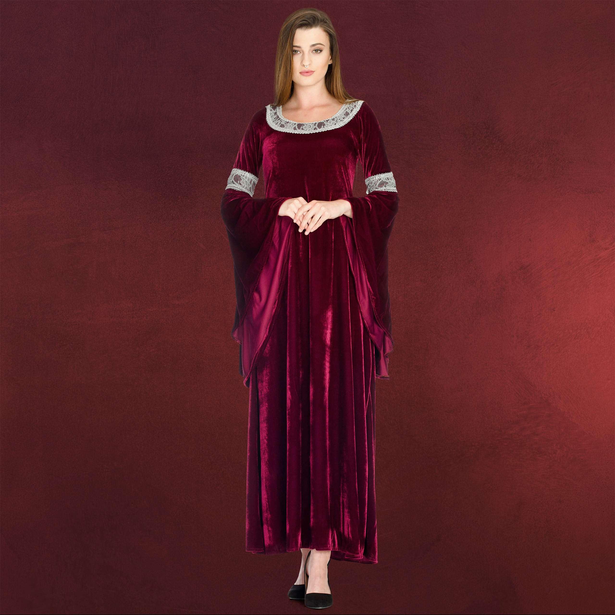 Arwen Königinnen Kleid
