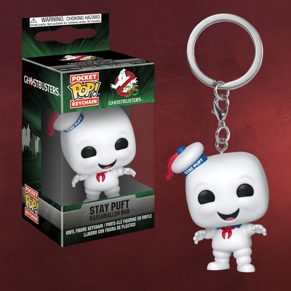 Ghostbusters - Marshmallow Man Funko Pop Schlüsselanhänger