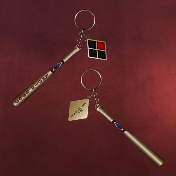 Harley Quinn Baseballschläger Schlüsselanhänger - Suicide Squad