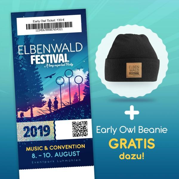 Elbenwald Festival 2019 – Kombiticket (Early Owl)