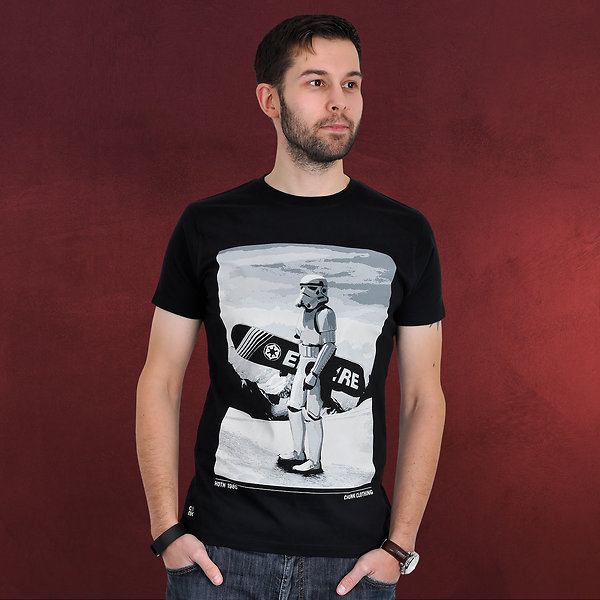 Star Wars - Snow Trooper T-Shirt schwarz