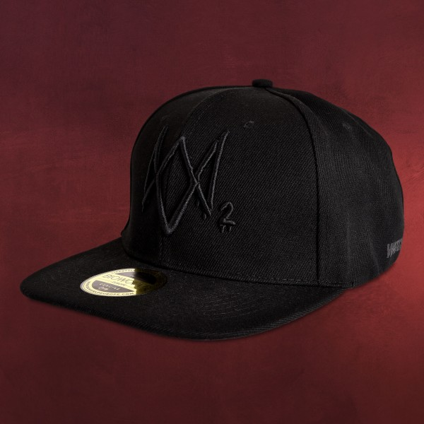 Watch Dogs - Logo Snapback Cap schwarz