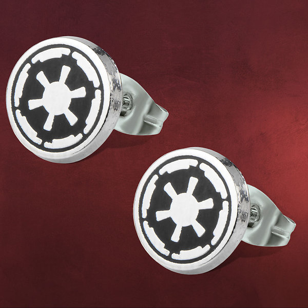 Star Wars - Galactic Empire Symbol Ohrstecker