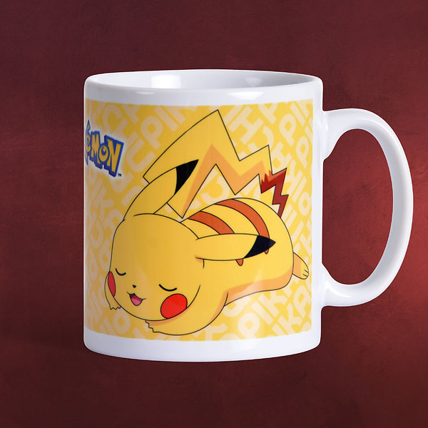 Pokemon - Sleeping Pikachu Tasse