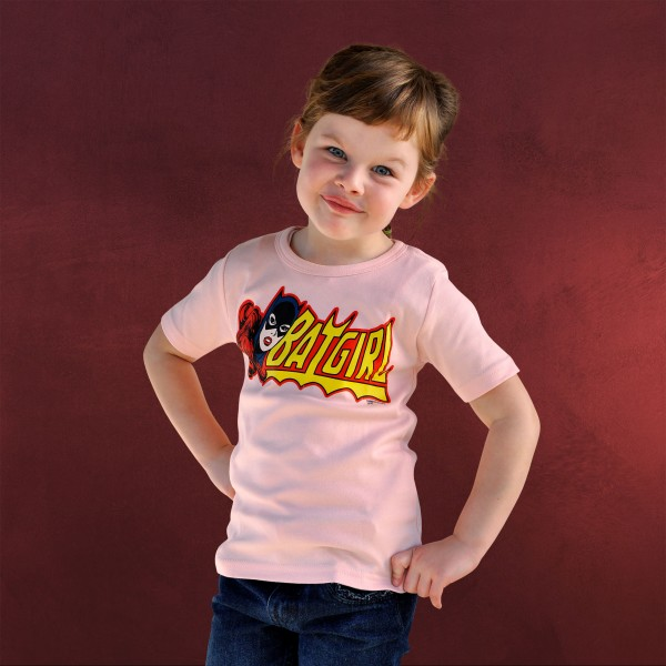 Batman - Batgirl Kinder T-Shirt rosa