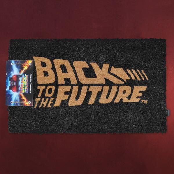 Zurück in die Zukunft - Logo Fußmatte