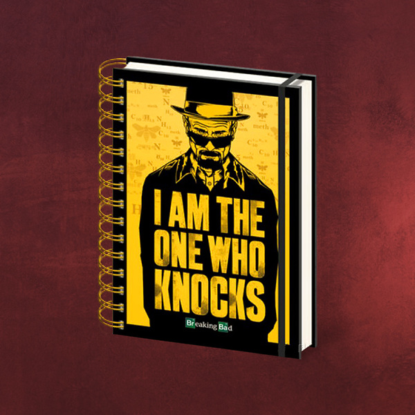Breaking Bad - The One Who Knocks Notizbuch