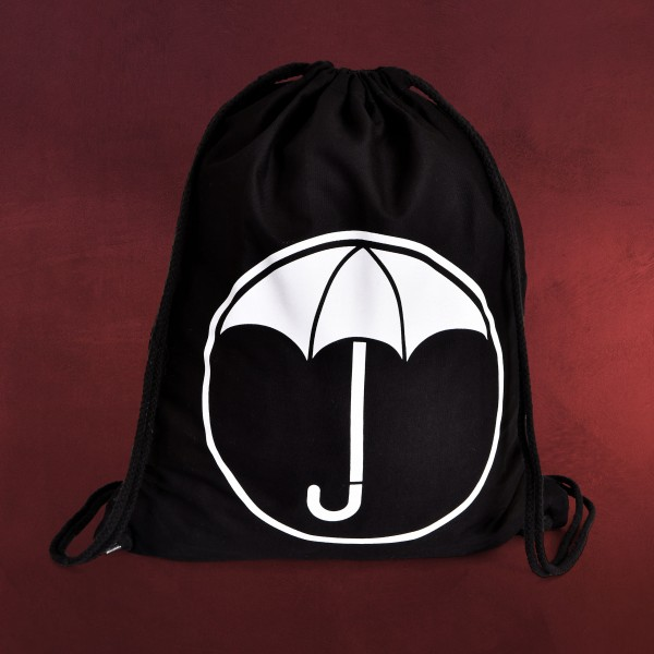 Logo Sportbag für The Umbrella Academy Fans schwarz