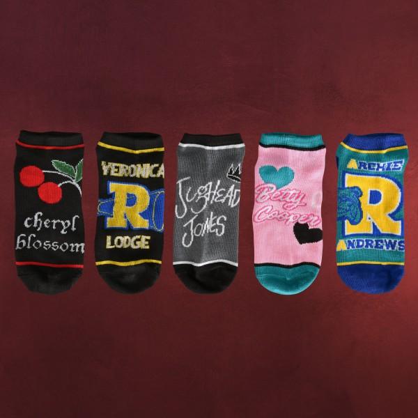 Riverdale - Character Symbols Socken 5er Set