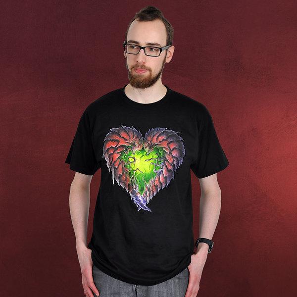 StarCraft 2 - Zerg Heart T-Shirt schwarz