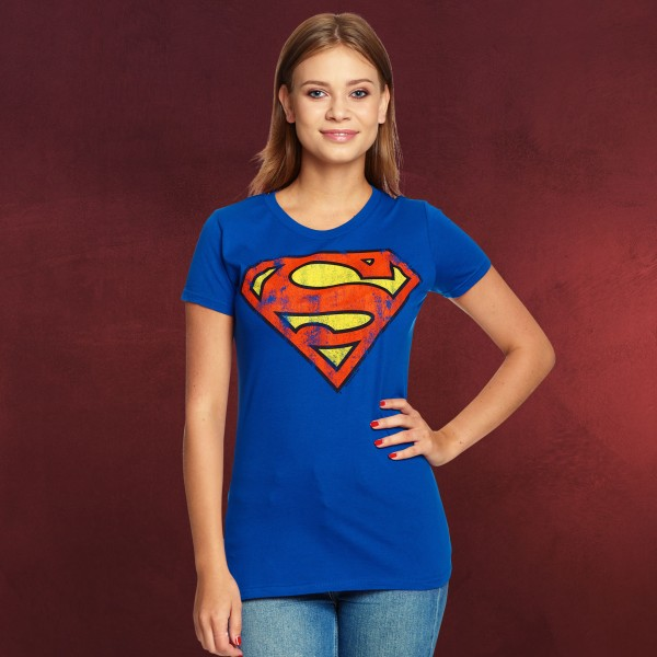 Superman - Logo Girlie Shirt