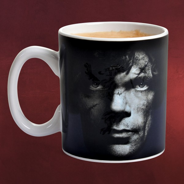 Game of Thrones - Tyrion Thermoeffekt Tasse