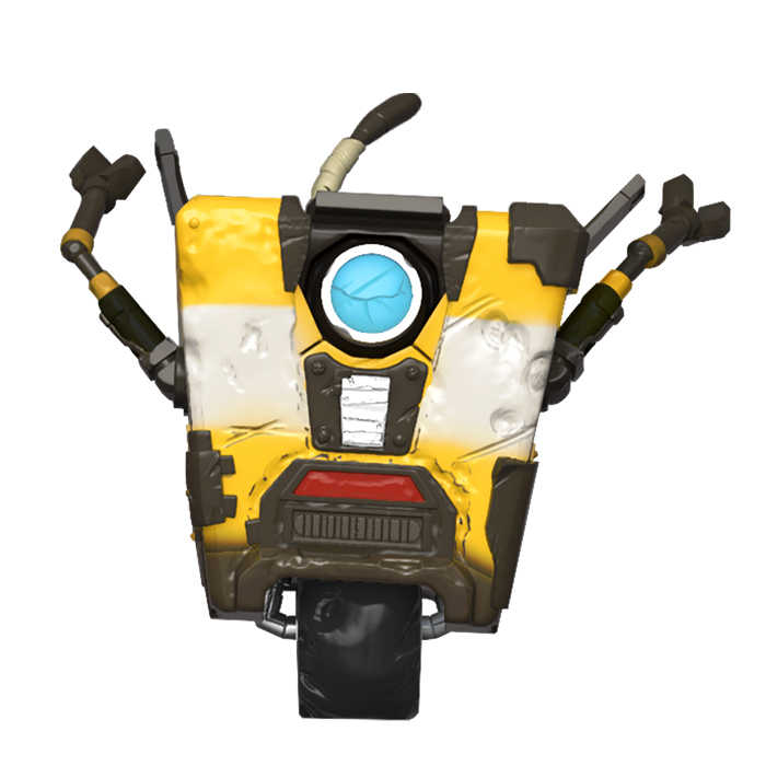 Borderlands - Claptrap Distressed Funko Pop Figur