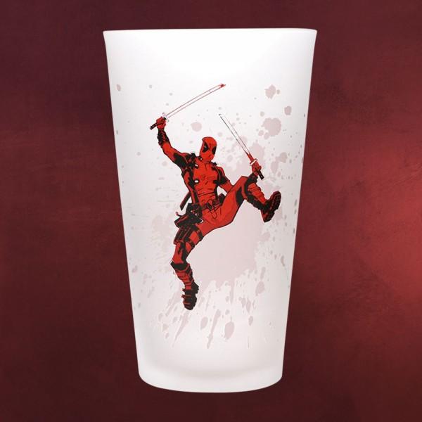 Deadpool - Whoa Kälteeffekt Glas mit Farbwechsel