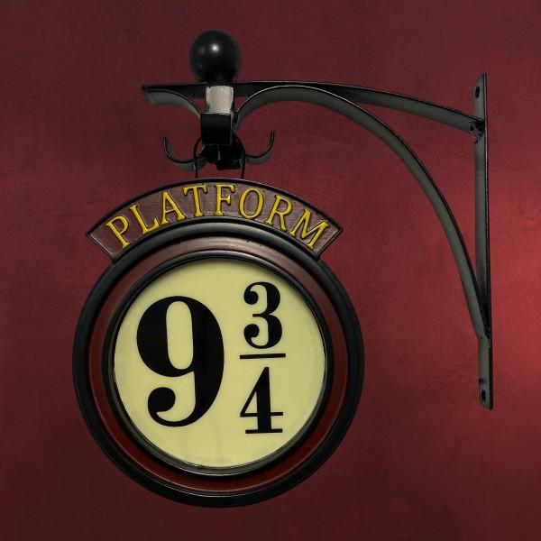 Harry Potter - Gleis 9 3/4 Wandschild mit Leuchtfunktion