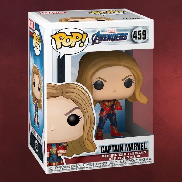 Avengers - Captain Marvel Endgame Funko Pop Wackelkopf-Figur