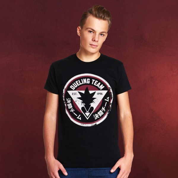 Yu-Gi-Oh! - Dueling Team T-Shirt schwarz