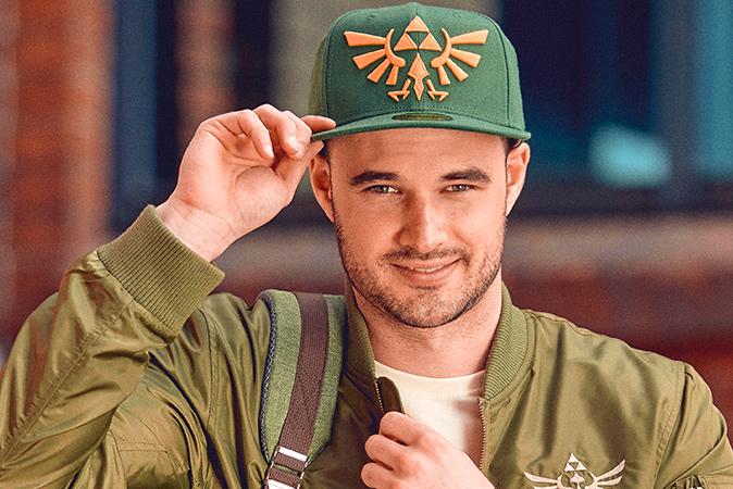 Zelda - Golden Logo Snapback Cap