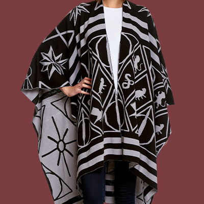 Harry Potter - Magic Symbols Poncho