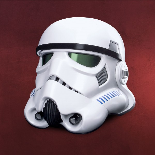 Star Wars - Stormtrooper Helm mit Stimmenverzerrer