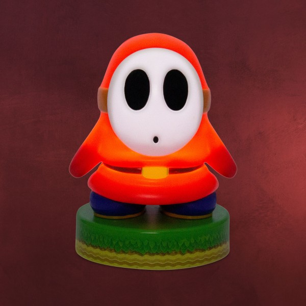 Super Mario - Shy Guy Icons 3D Tischlampe