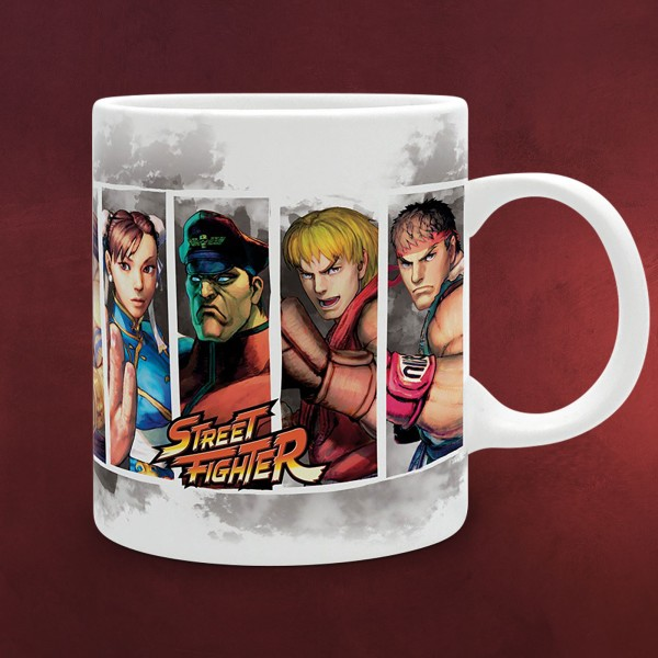 Street Fighter - Characters Tasse