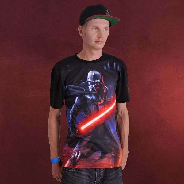 Star Wars - Darth Vader Full Size T-Shirt schwarz