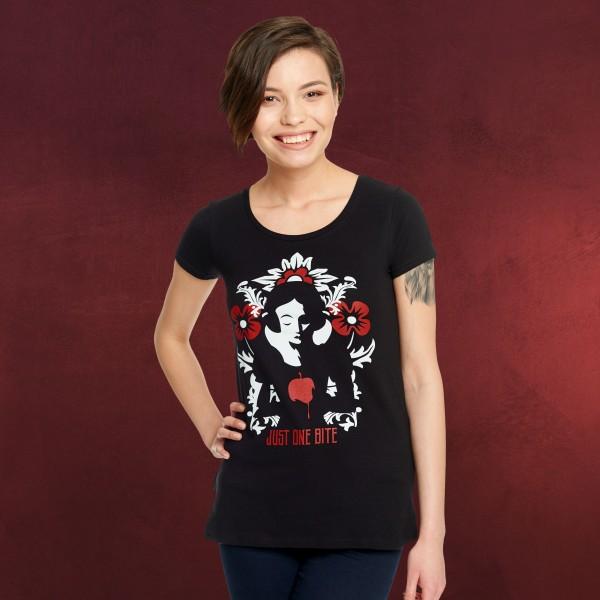 Schneewittchen - Just One Bite T-Shirt Damen schwarz