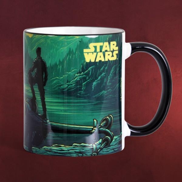 Star Wars - Poe mit Sternjäger Tasse - Art Line