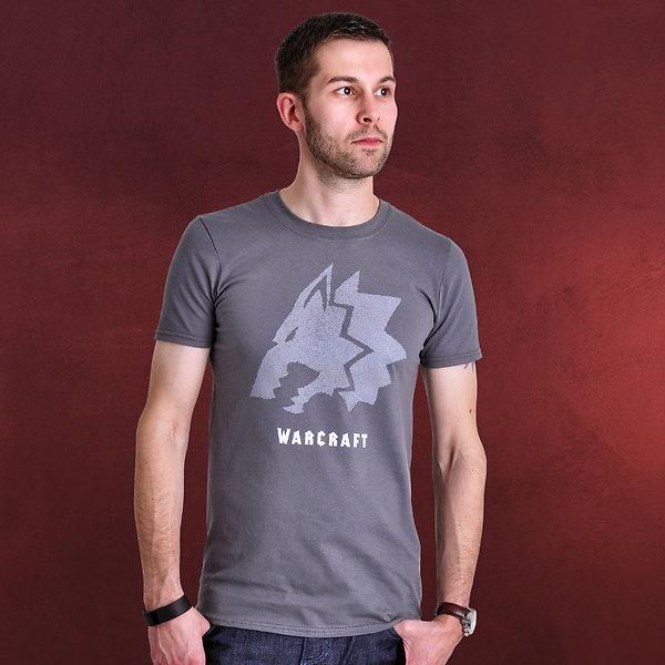 Warcraft - Frostwolf T-Shirt grau