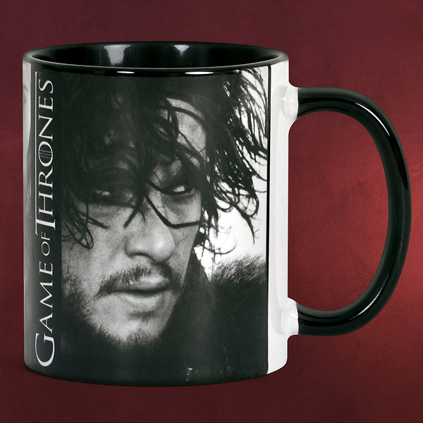 Game of Thrones - Jon Snow Tasse - Black Line