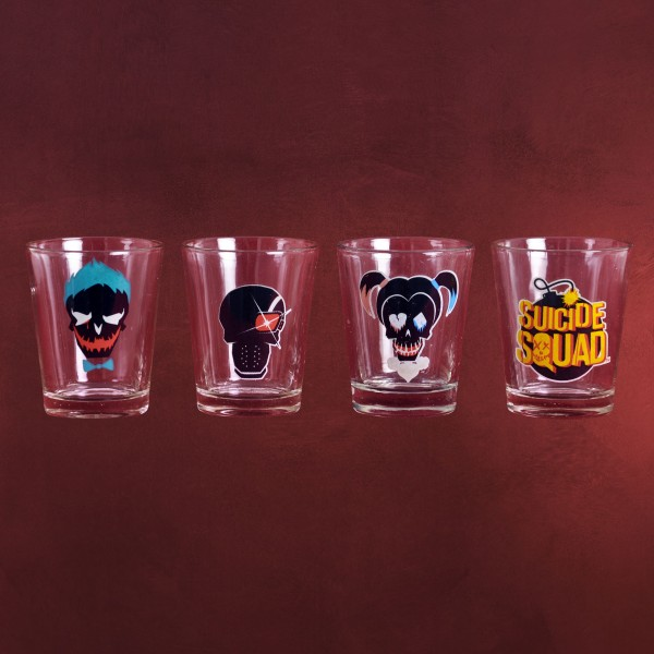 Suicide Squad - Shots Gläserset