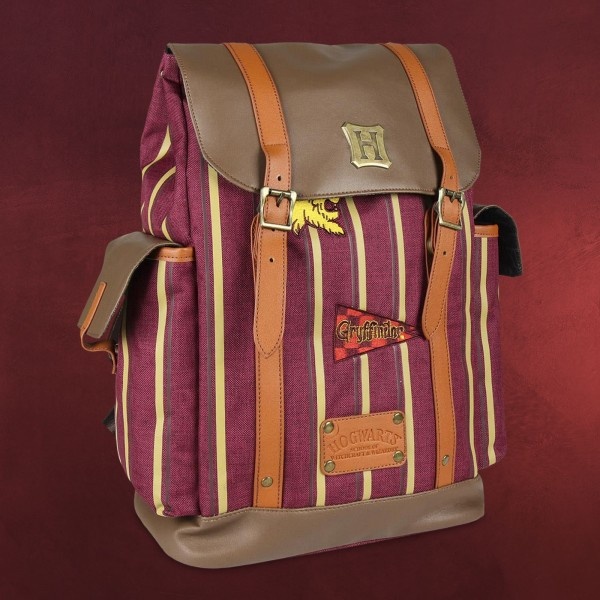 Harry Potter - Gryffindor Stripes Rucksack