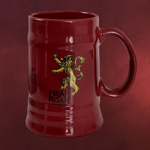 Game of Thrones - Lannister Krug rot