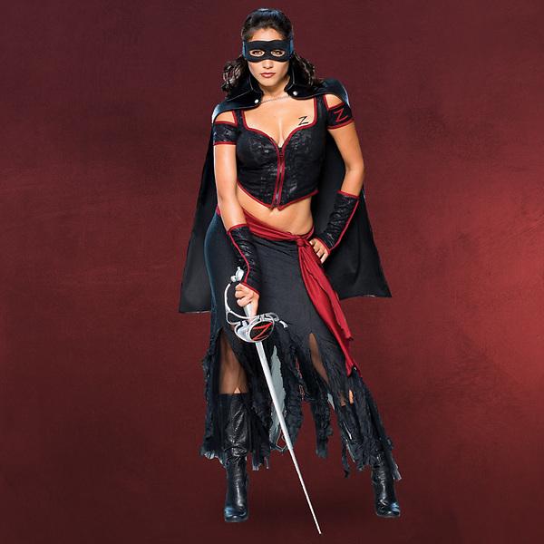 Lady Zorro - Kostüm