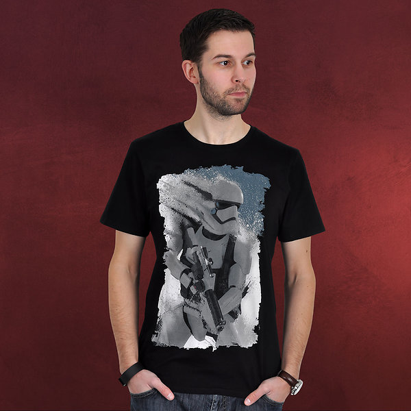 Star Wars - Trooper Cover T-Shirt schwarz