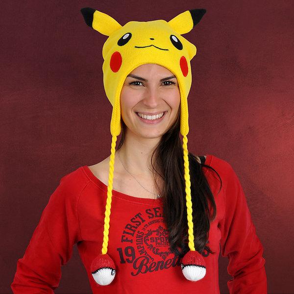Pokemon - Pikachu Mütze gelb