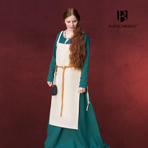 Mittelalter Überkleid Gyda beige