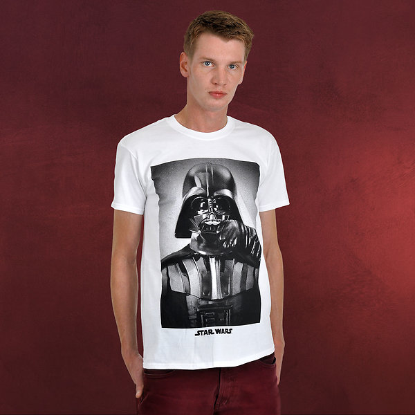 Star Wars - Darth Vader Mustache Fashion T-Shirt